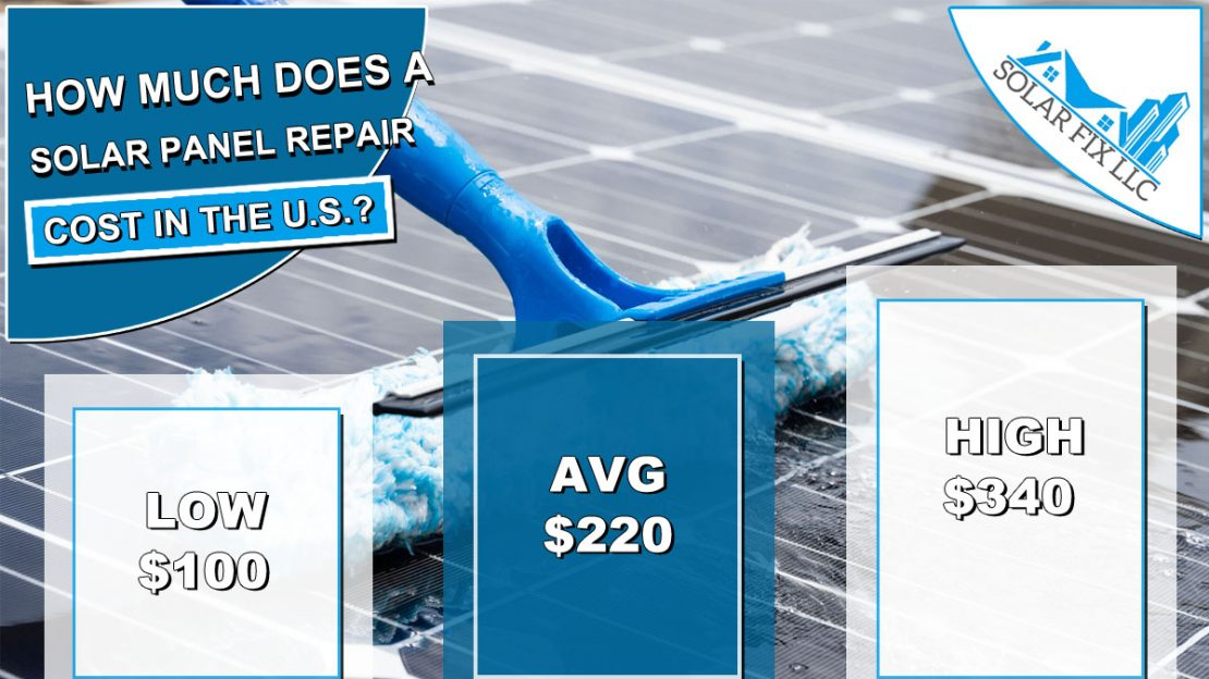 Solar Panel Repair Cost