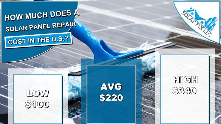 Solar Panel Repair & Replacement Cost