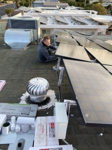 Removing Solar Panels