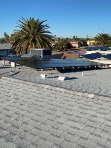 Solar Panel Reinstall