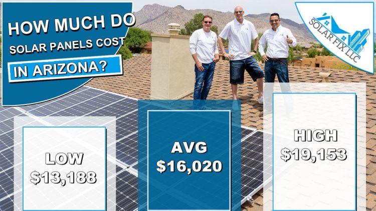Solar Panels Cost Arizona