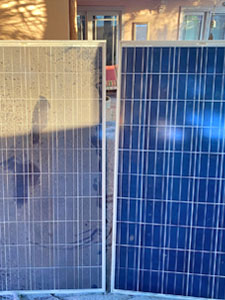 Clean Dirty Solar Panels